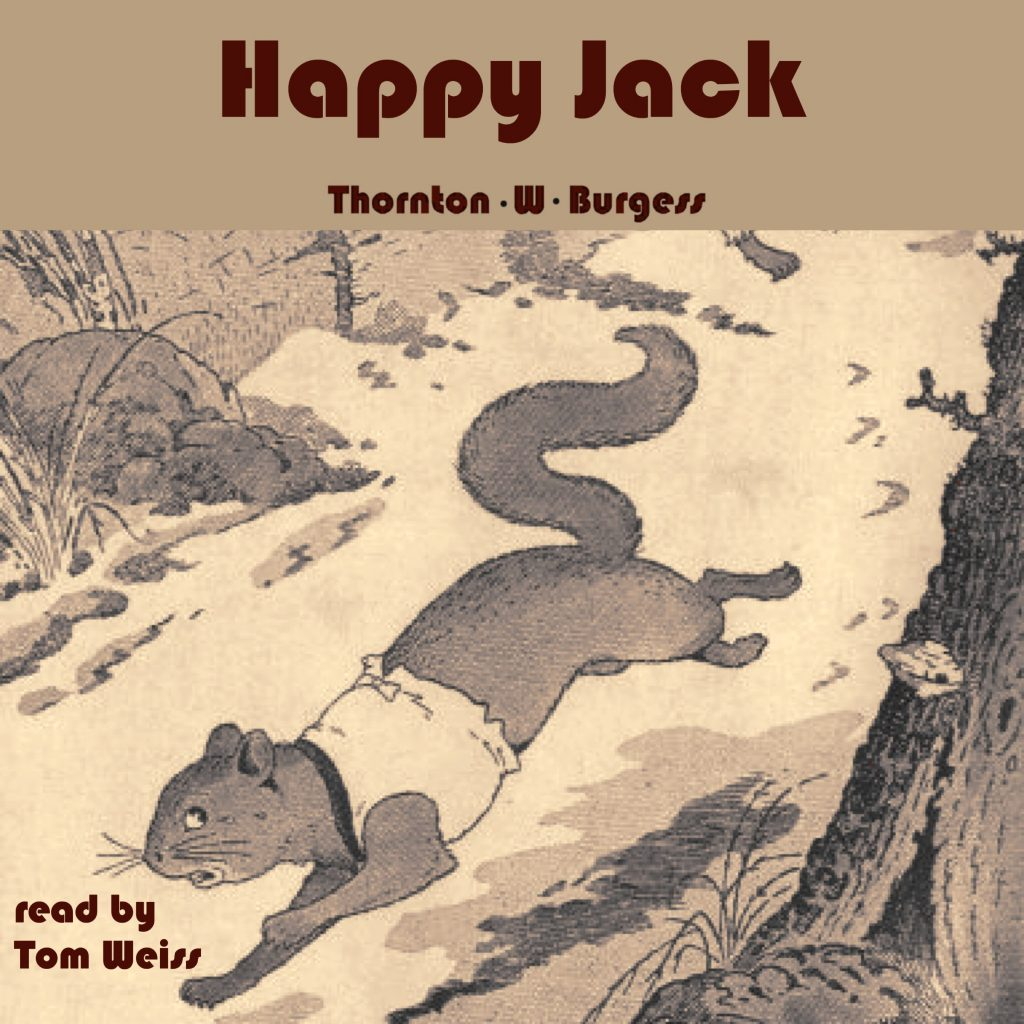 Happy Jack cover by Thornton W. Burgess