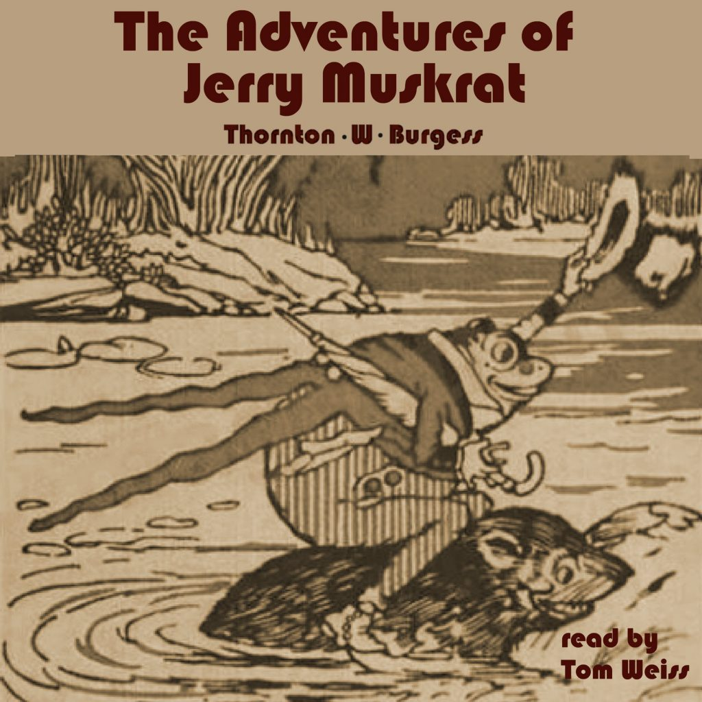 The Adventures of Jerry Muskrat cover