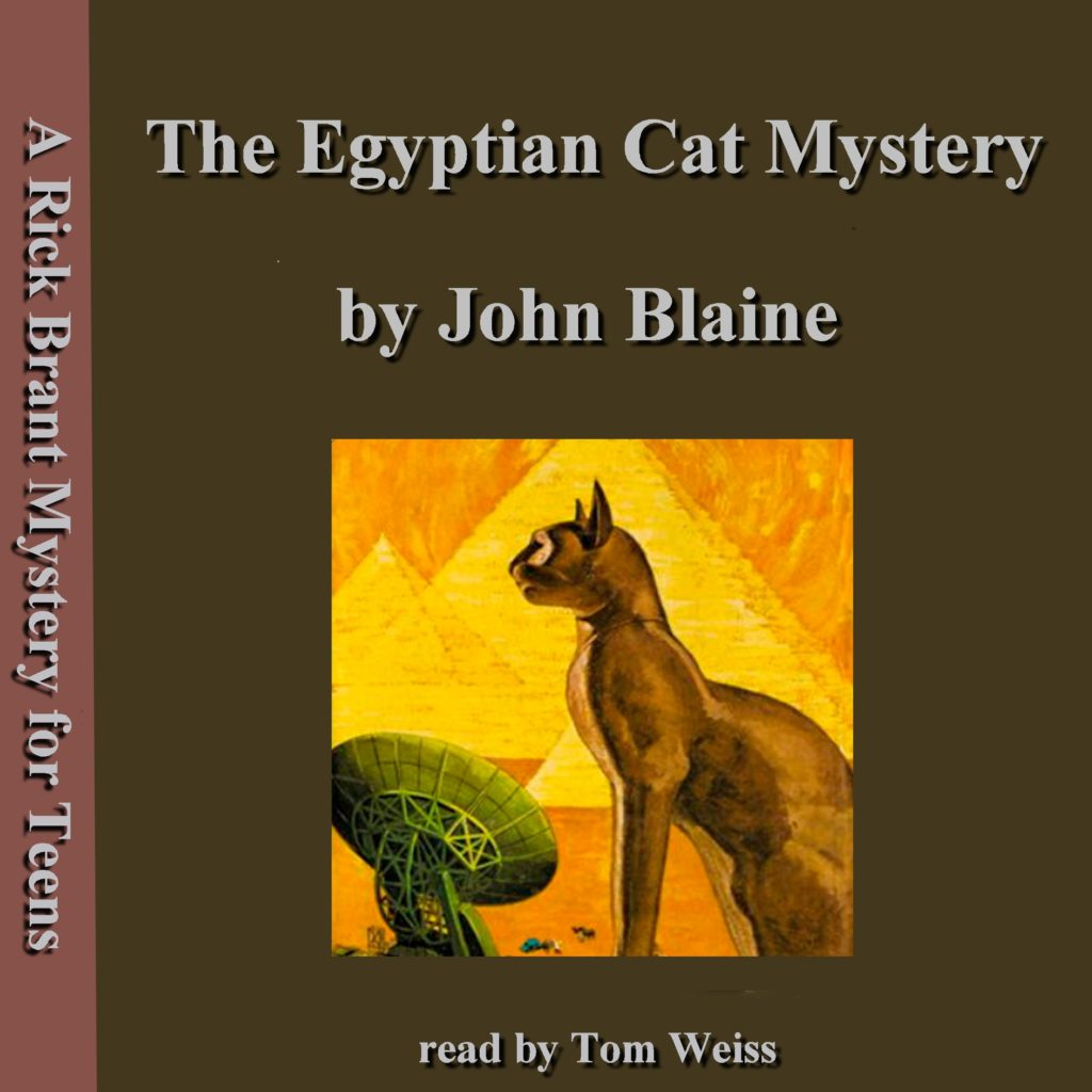 The Egyptian Cat Mystery by John Blaine