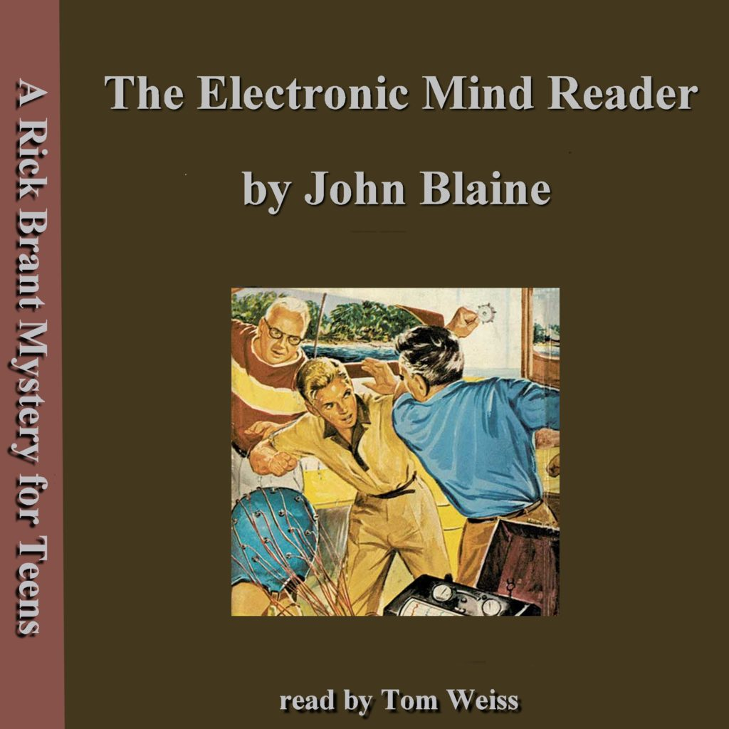 The Electronic Mind Reader by John Blaine cover
